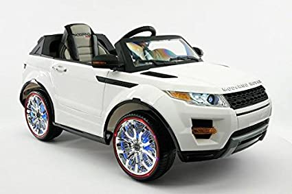 Range Rover Style Battery Powered 12V Kids Electric Ride-On Car with MP3 Player,