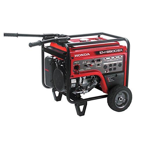 Honda EM6500S Generator w/ Electric Start (Honda Quiet Generator)