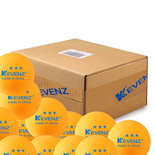100 Pack KEVENZ Advanced Training ping pong product image