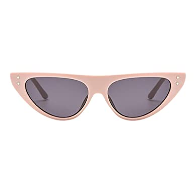 d2043ce3e2d51 Image Unavailable. Image not available for. Color  Limsea New Arrival! Retro  Vintage Clout Cat Unisex Sunglasses Rapper Oval Shades Grunge Glasses