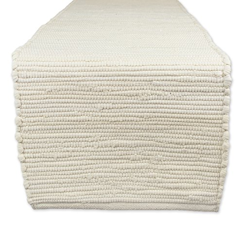Woven Table Runner (DII Cotton Everyday Machine Washable Chindi Rag Table Runner, 14 X 72