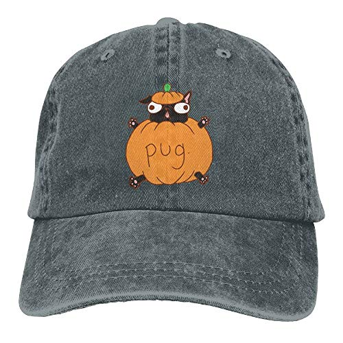 Arsmt Halloween Dog Costume Denim Hat Adjustable Men Baseball Hats -