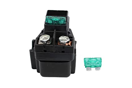 51fUT tg95L._SX425_ amazon com starter solenoid relay & fuse for suzuki eiger 400