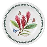 Portmeirion Exotic Botanic Garden Pasta Bowl, Set with 6 Assorted Motifs