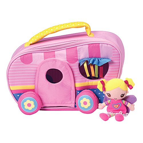 Adora TravelTime Fairy Play Set Padded RV Trailer Camper with Plush 5.5