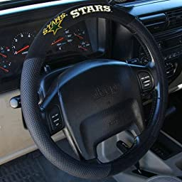 NHL Dallas Stars Poly-Suede Steering Wheel Cover