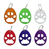 Cheap Swatom Bear's-paw Keychain Bottle Opener Beer Opener Tool, Key Tag Chain Ring, 100 Piece
