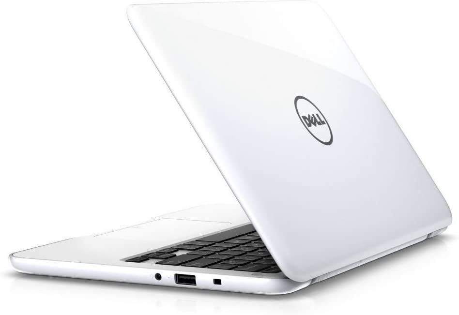 "Dell Inspiron 11-3168 Intel Celeron N3060 X2 1.6GHz 2GB 32GB 11.6"" Win10, White (Scratch and Dent)"