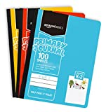 "AmazonBasics Primary Journal 1/2"" Ruled & Blank"