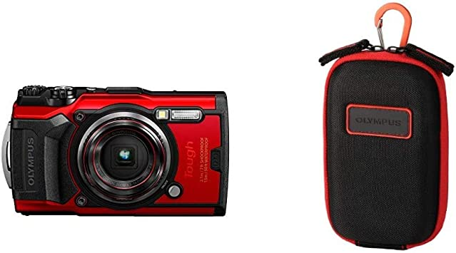 Olympus Tough Tg 6 Actionkamera 12 Megapixel Sensor Kamera
