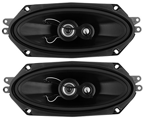 Planet Audio TRQ413 Torque 400 Watt (Per Pair), 4 x 10 Inch, Full Range, 3 Way Car Speakers (Sold in Pairs)