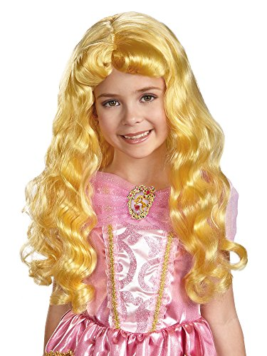 Sleeping Beauty Child Wig - Disguise Disney Princess Sleeping Beauty Aurora Child Wig