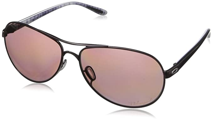 1027a0489e2 Amazon.com  Oakley Feedback Polarized Aviator Sunglasses