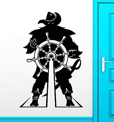 pegatinas de pared tortugas ninja Capitán de la nave volante ...