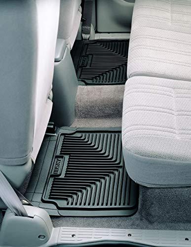 (Husky Heavy Duty Floor Mats, 2pc 2nd Seat Mats, Color: Black 52021)