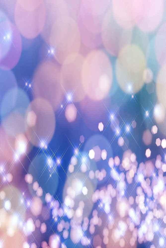 GladsBuy Warm Lights 8' x 12' Digital Printed Photography Backdrop Starlight and light theme Background YHA-007