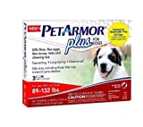 PETARMOR PLUS FOR DOGS 89 - 132 LBS.