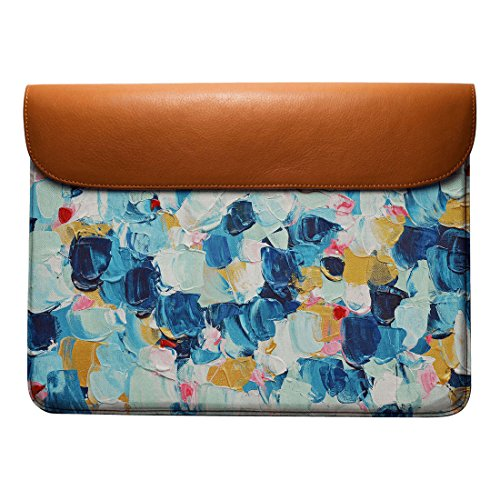 Elemental Real Leather Pro 13 MacBook Sleeve Azure Air Envelope DailyObjects For OqdnEEg
