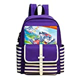 Fashion Printed Backpack Gliding Rabbit School Bag