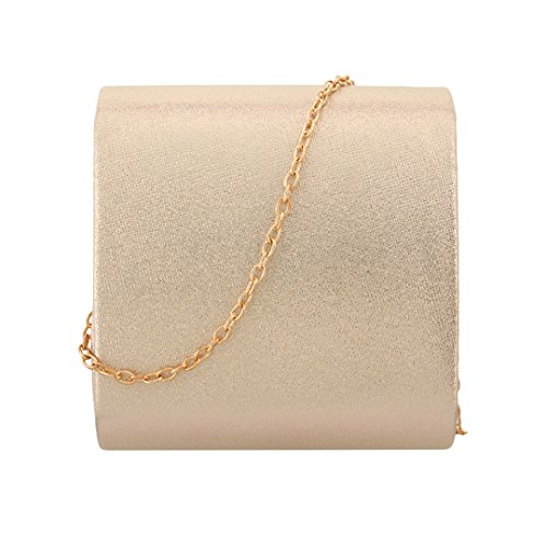Shiny Handbag s Wedding Elegant Bag Evening Shoulder Party Clutch Women' 90S apricot Bag x6wqEE