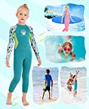Kids Girls Boys Wetsuit Full Body Neoprene Thermal