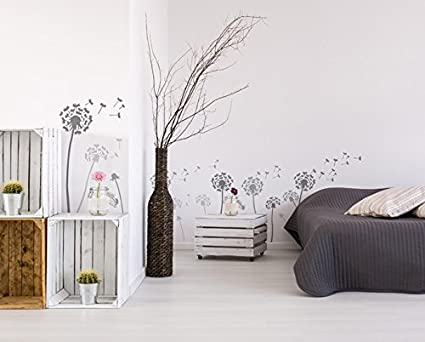 Paint Walls Fabrics /& Furniture 190 Mylar Reusable Stencil Home Wall DECORATING Art /& Craft Stencil Dandelion /& floating seeds STENCIL L//A2// See images