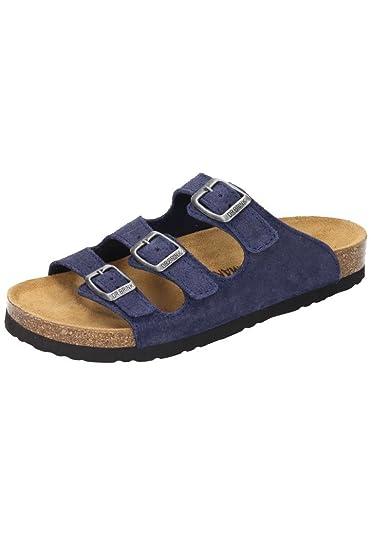 DR. Brinkmann - Damen Tiefbett Pantolette Rot - Schuhe in Übergrößen sgp3SRsKu,