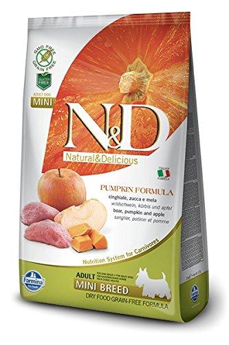 Farmina Natural & Delicious Grain-Free Pumpkin Boar & Apple Adult Dog Mini 5.5 lb