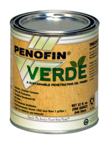 Performance Coatings 733921700673 Penofin Verde Sustainable Wood Finish, 1-Quart, Cypress