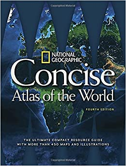 Book National Geographic Concise Atlas of the World, 4th Edition