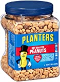 Planters Dry Roasted Peanuts, 2 LB 2.5 oz (Count of 3)