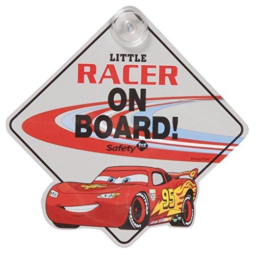 [Disney Little Racer On Board Sign, Cars II] (Baby In Monsters Inc)