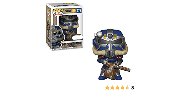 T-51 Power Armor Special Edition Green variant #481-New Details about  /Funko Pop Fallout 76