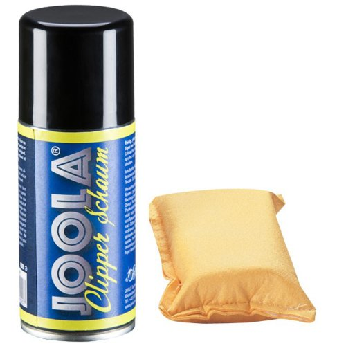 JOOLA Clipper Foam Cleaner 150mL with Sponge (Racket Cleaner Table Tennis)