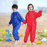 JiAmy Kids Baby One Piece Rain Suit Waterproof