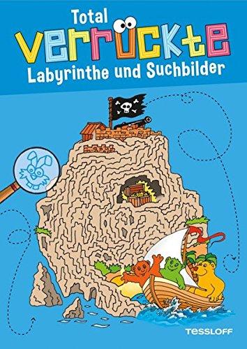 Total verrückte Labyrinthe und Suchbilder: Für Kinder ab 6 Jahren (Malbücher und -blöcke)