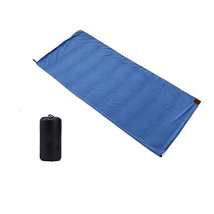 CXJC Forro para Saco De Dormir 180 * 80cm Lana Aislamiento Plegable Fácil De Llevar para