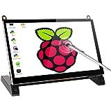 7 Inch Capacitive Touch Screen Portable Monitor, UPERFECT 1024 x 600 HDMI Port Built-in Speakers TFT LCD Display for RaspberryPiABA+B+2B3B3B+/Raspbian/Kali/UbuntuMate