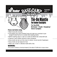 Mr. Heater Base Camp Pro Series Tie-On Mantle for Indoor Propane Gaslights