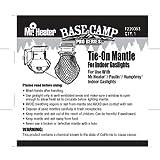 indoor lp heater - Mr. Heater Base Camp Pro Series Tie-On Mantle for Indoor Propane Gaslights