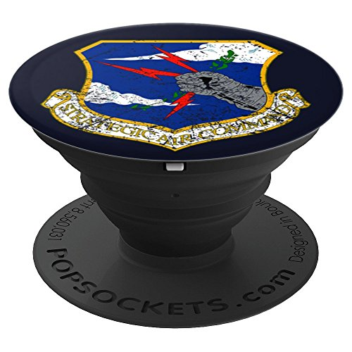Aviation Pilot Strategic Air Command USAF Military Roundel - PopSockets Grip and Stand for Phones and -
