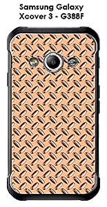 Carcasa para Samsung Galaxy xcover, 3-g388f metal, color naranja