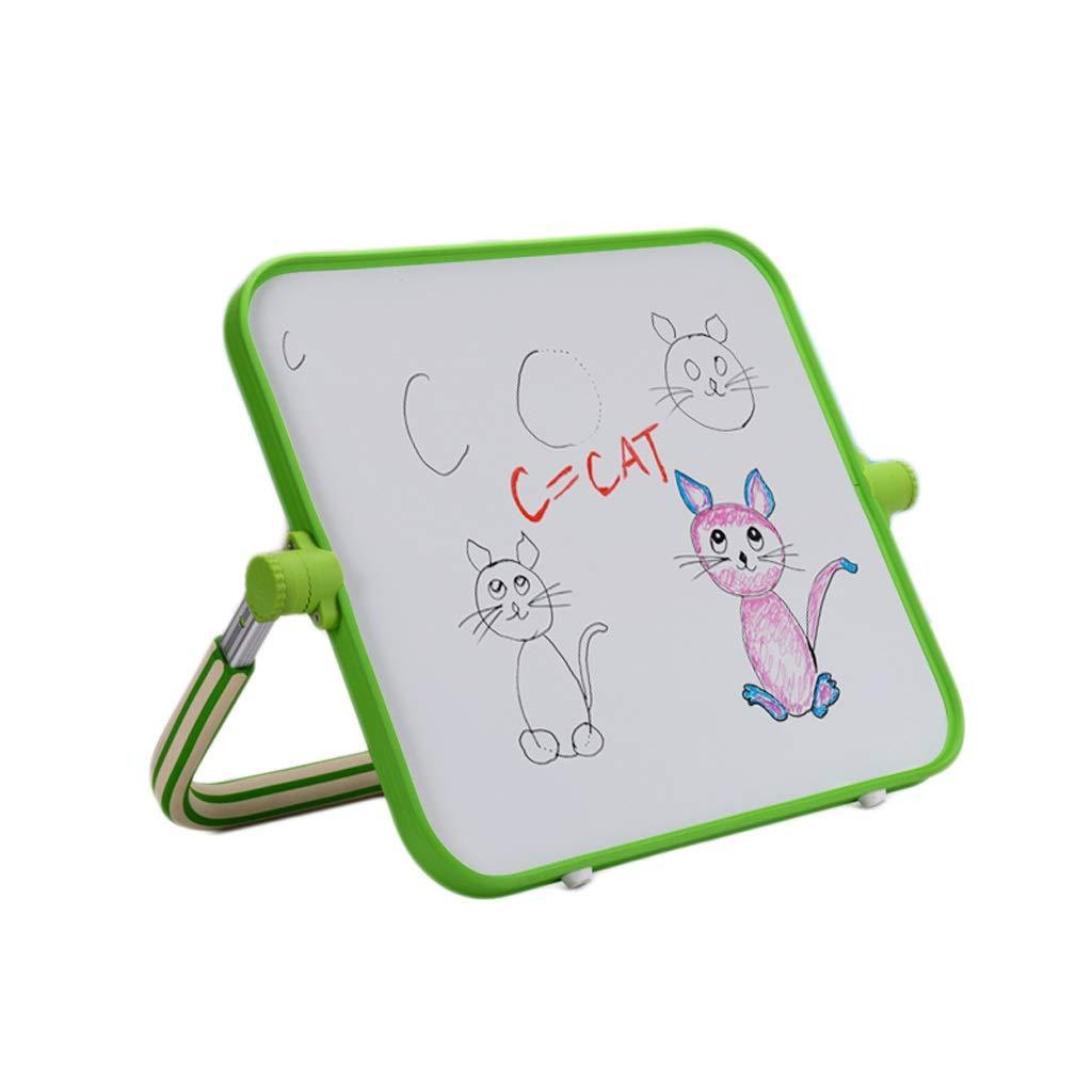 絵画 磁気製図板携帯用ブラケットのタイプ執筆板ホワイトボードの赤ん坊の子供のほこりのない落書き板45 * 40 cm 子供のための赤ちゃんのおもちゃ (Color : Green, サイズ : 45*40CM) 45*40CM Green B07SYQ37WB
