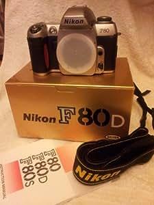 Nikon F80 F 80 F-80 black Camera Reflex