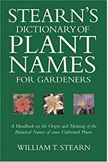 Amazon com: The Names of Plants (9780521685535): David Gledhill: Books