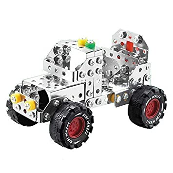 Amazon Com Yixin Metal Build N Play Assemble Disassemble Jeep