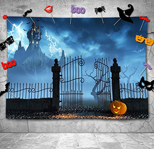 Halloween theme Pictorial cloth Customized photography Backdrop Background studio -