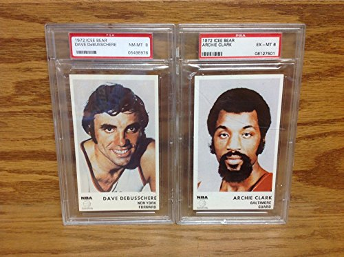 dave-debusschere-ny-knicks-archie-clark-baltimore-bullets-1972-icee-bear-psa-6-8