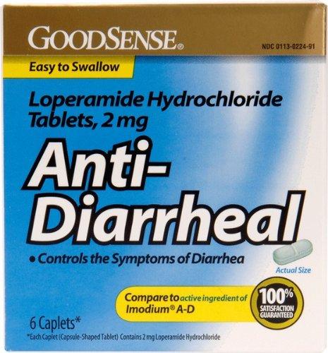GoodSense® Goodsense® Loperamide Hydrochloride 2mg Anti-Diarrheal Caps 6 Count(Pack of 24) from Good Sense