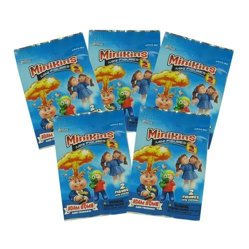Garbage Pail Kids - MiniKins Mini Figures Series 2 - PACKS (5 Pack Lot)